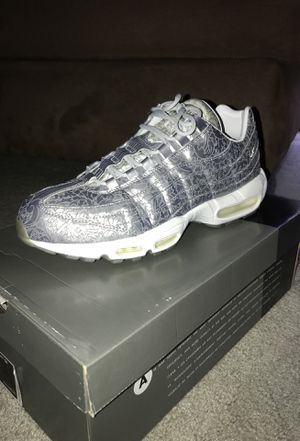 9fe759f60f436 Nike Air Max 95 20th Anniversary Edition (Platinum) Size 12 for Sale in  Nashua