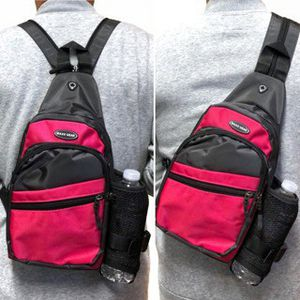 NEW! Pink Crossbody/Side Bag/Sling Straps Converts to Backpack For Everyday Use/Work/Traveling/Hiking/Biking/Sports/Outdoors for Sale in Carson, CA