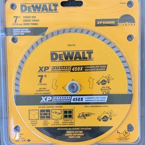 Dewalt XP Diamond Tip Cement Blade for Sale in Tampa, FL
