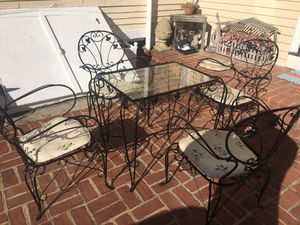 Table Garden Set with Chairs Antique for Sale in Essex, MA