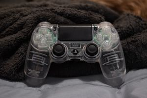 Clear Custom PS4 Controller for Sale in Redmond, WA