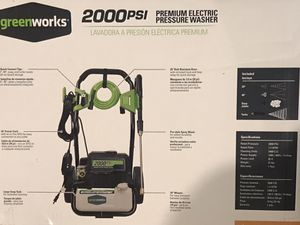 Brand new 2000psi pressure washer by greenworks for Sale in Kansas City, MO