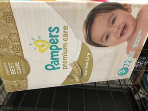 Pampers diapers size 3 for Sale in Bluffdale, UT