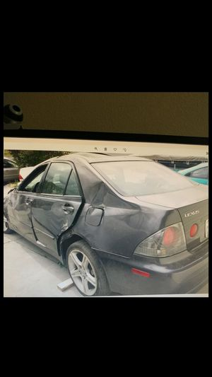 02 Lexus IS300 wrecked parting out for Sale in San Jose, CA