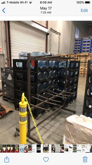 Rack for folding chairs for Sale in Poinciana, FL