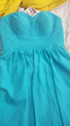 Turquoise/teal bridesmaids gown for Sale in Nashville, TN