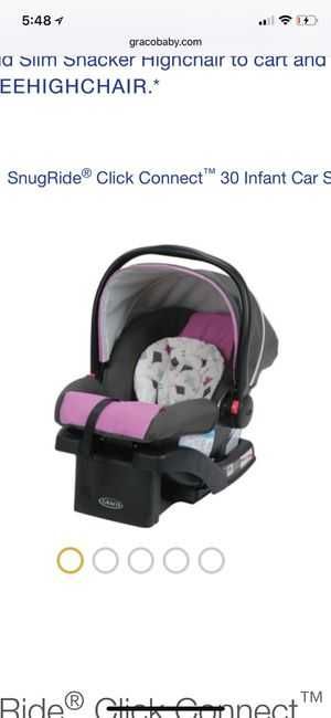 Grace snug ride 30 car seat for Sale in Columbus, OH