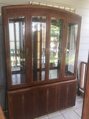 Wood and glass antique for Sale in Houston, TX
