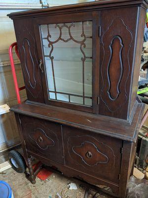 Antique china cabinet for Sale in Murfreesboro, TN