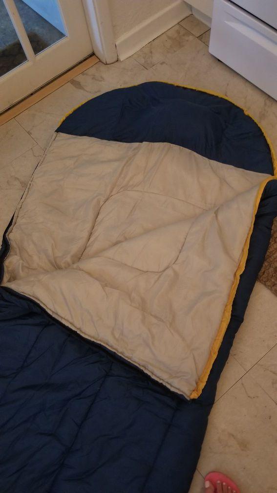 Cozy sleeping bag