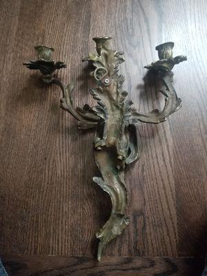 Bronze candelabra for Sale in Park Ridge, IL