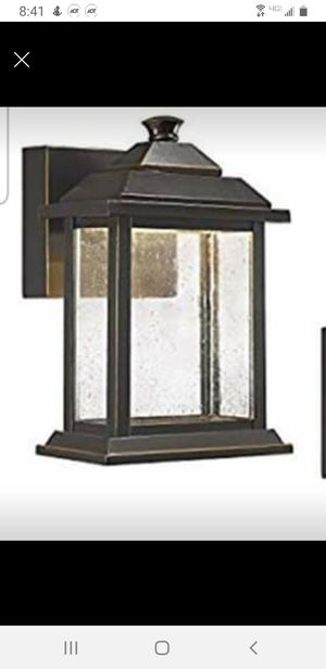 Outdoor wall light for Sale in Columbus, OH