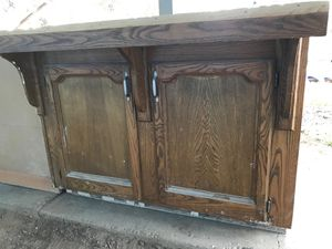 Solid wood kitchen cabinets for Sale in Madera, CA