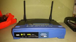 Linksys 2.4 GHz Wireless G Router for Sale in Seattle, WA