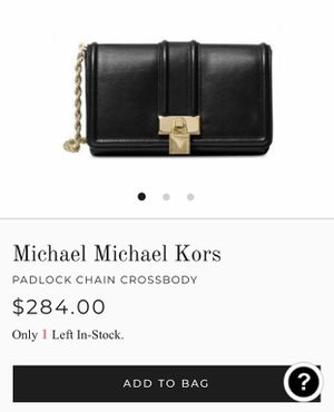 Micheal Kors Crossbodies, Padlock chain xbody leather for Sale in Fort Wayne, IN
