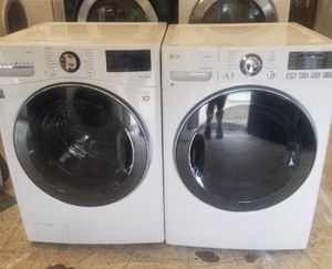 LG Front Load Washer & Stackable Dryer Set! Can Deliver Next Day! $50 Down 90 Day Pay Plan Available! Military Discount! Se Habla Espanol! for Sale in Norfolk, VA