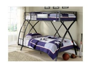 TWIN/FULL BUNK BED, METAL for Sale in Modesto, CA