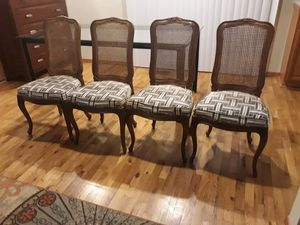 FOUR CHAIRS FOR SALE for Sale in Bellevue, WA