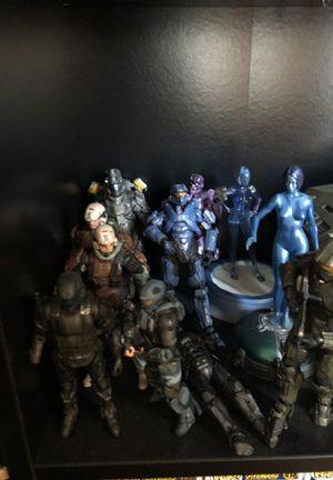 Halo action figures for Sale in La Puente, CA