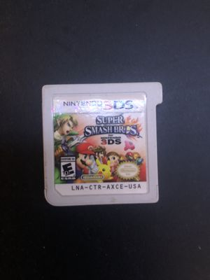 Nintendo 3DS Suoer Smash Bro's for Sale in Fullerton, CA