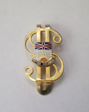 British Columbia Money Clip for Sale in Midlothian, VA
