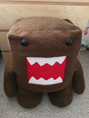 2.5 ft tall Domo / Domokun Japanese Anime Stuffed Animal Plush Toy for Sale in Fremont, CA