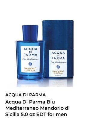 ACQUA DI PARMA 5.O oz I have one of each MEDITERRANEO ITALY for Sale in Bellevue, WA
