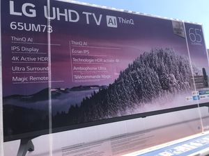 "65"" LG 4K Smart TV for Sale in Los Angeles, CA"