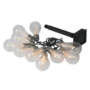 Portfolio 13.9-ft 10-Light Plastic-Shade Solar Bulbs LED String Light for Sale in Phoenix, AZ