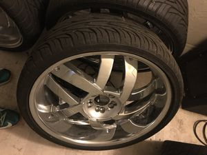 """Like NEW 22"""" UNIVERSAL RIMS for Sale in Portland, OR"""