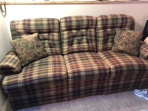 Recliner couch. for Sale in Salt Lake City, UT