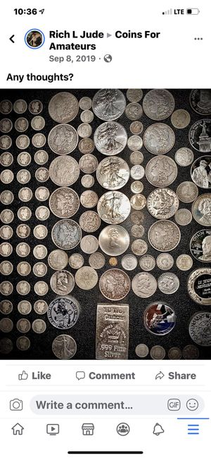 10 pounds not searched world coins for Sale in Midland, LA