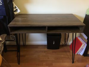 Desk with Hairpin Legs for Sale in Pinole, CA