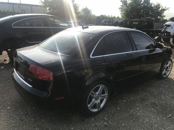 2006 Audi A4 2.0 Turbo transmission Doors Seats front rear left right bumper rims trunk tail lights suspension exhaust radio brakes leather mirror