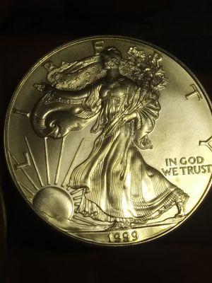1999 silver American eagle for Sale in Denver, CO