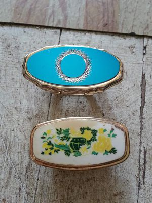 TWO ANTIQUE LIPSTICK CASES WITH MIRRORS for Sale in Cumberland, MD