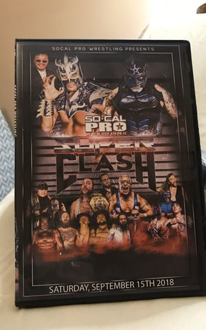 Wrestling DVD- Super Clash for Sale in Longview, TX