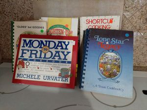 5 cookbooks for Sale in Midland, TX
