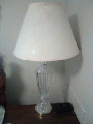 Crystal lamp for Sale in Lake Wales, FL