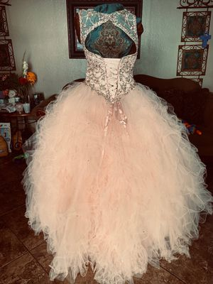 quinceanera dresses & sweet 16 size 8 wore once only comes with doll and pillow as well for Sale in City of Industry, CA