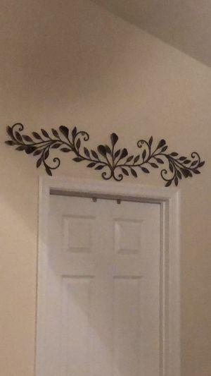 2 over the door/window metal decor for Sale in Front Royal, VA