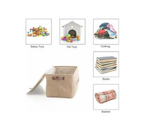 Jute Storage Basket with Lid for Sale in Phoenix, AZ
