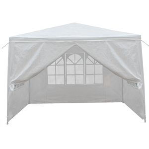 10'x10' Carport Garage Car Shelter Canopy Party Tent Sidewall with Windows White for Sale in Fremont, CA
