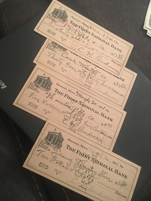 1930 CHECKS for Sale in Richmond, KY