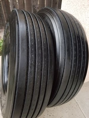 GOODYEAR LHS STEER OR TRAILER TIRES for Sale in Sanger, CA