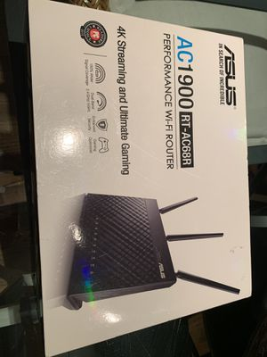 Asus AC1900 RT-AC68R Wi-Fi Router - Brand New for Sale in Decatur, GA
