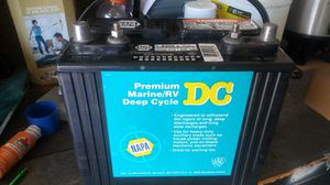 Deep Cycle Marine/RV battery for Sale in NEW PRT RCHY, FL