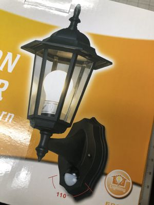 Outdoor Motion Sensor Lantern (NEW) for Sale in El Monte, CA