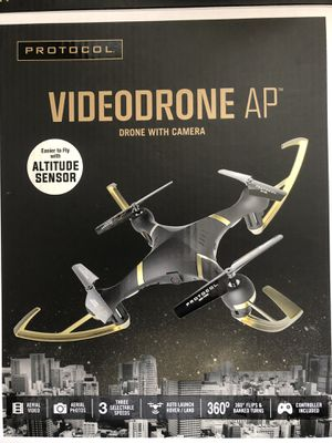 Protocol Videodrone AP drone with camera for Sale in St. Louis, MO