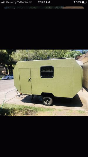 Teardrop trailer . Camper small RV home for Sale in Los Angeles, CA